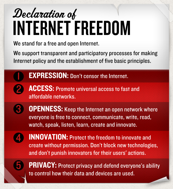 From Moment to Movement: A Declaration of Internet Freedom ...